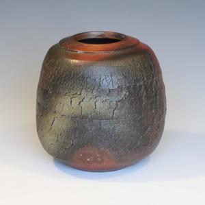 Bizen Style Blossom Vase