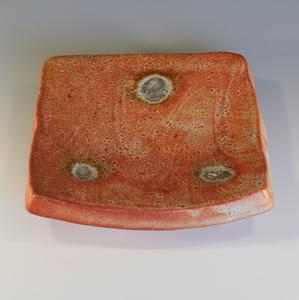 Wood Fired Shino Plate