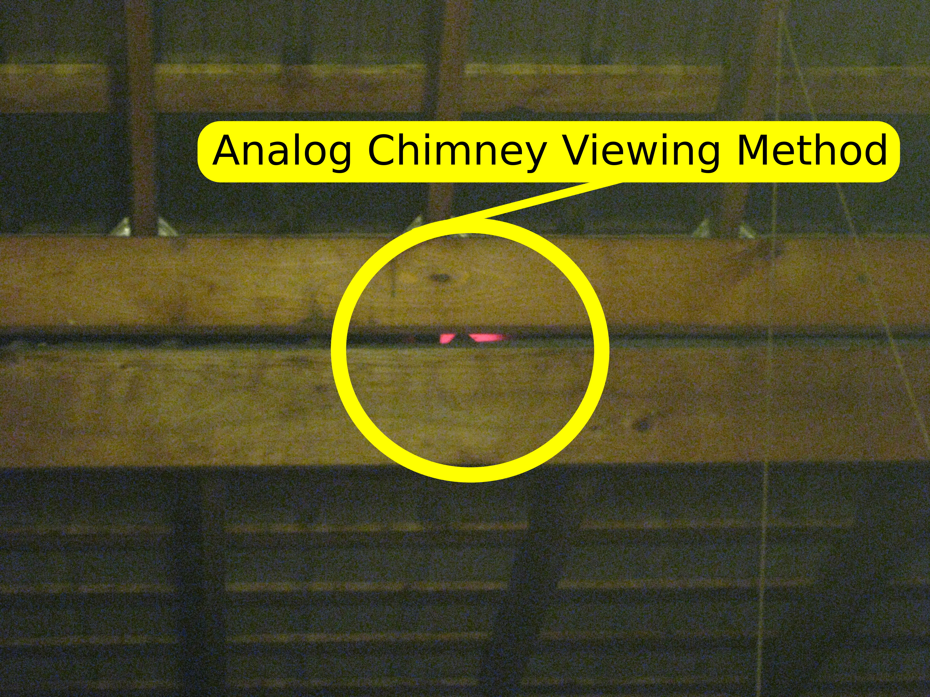 Old anagama chimney view